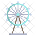 London Eye Ferriswheel Monument Icon