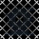 Line X London Eye Icon