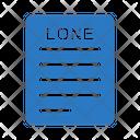 Lone Paper Icon