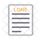 Lone papers Icon