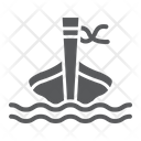 Long Tail Boat Icon