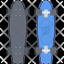 Longboard Sport Equipment Icon