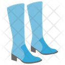Long Boots Long Shoes Farmer Shoes Icon