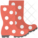 Long Boots Red Icon
