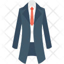 Long Coat Necktie Icon