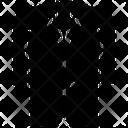 Long Coat Tuxedo Formal Coat Icon