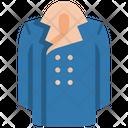 Long Coat Apparel Winter Icon