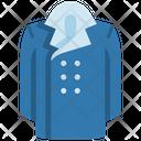 Long Coat Apparel Coat Icon