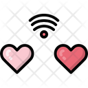 Long distance relation Icon