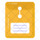 Long Envelope Document Envelope Correspondence Icon