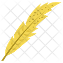 Long Feather Feather Plumage Icon