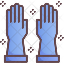 Gloves Wearing Protection Icon
