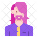 Avatar Casual Beard Icon