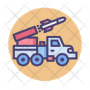 Long Range Air Missile Weapon Truck Icon