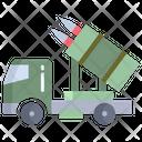 Xvehicle Long Range Air Missle Rocket Launcherweapon Icon