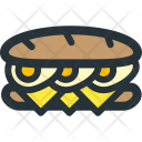 Long Sandwich Icon