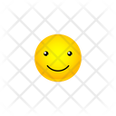 Long Simle Smiley Icon