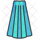Long skirt Icon