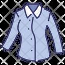 Long sleeve shirt women Icon