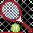 Long Tennis Tennis Racket Icon