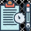 Long Term Contract Long Term Icon