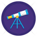 Long Term Goals Telescope Stargaze Icon