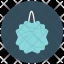 Loofa Flower Pin Icon