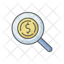 Money Search Lens Icon