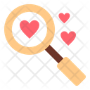 Search Looking Love Icon