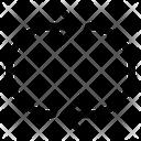 Loop Layout Arrows Icon