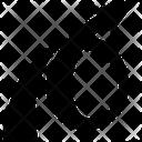 Round Arrow Loop Upload Icon