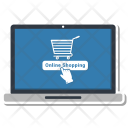 Loptop Online Shopping Icon