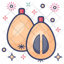 Loquat Rosaceae Healthy Food Icon