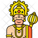 Lord Hanuman Icon