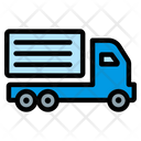 Lorry Delivery Shipping Icon