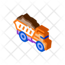 Motor Lorry Mining Icon