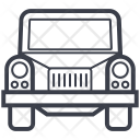 Lorry Transport Commercial Icon