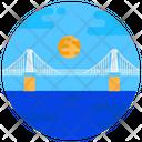 Loschwitz Bridge Cantilever Truss Bridge Footbridge Icon