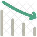Loss Graph Chart Icon