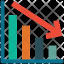 Down Market Analytics Icon