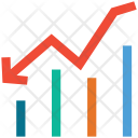 Chart Loss Bar Icon