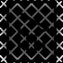 Graphic Arrow Loss Icon