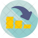 Loss Business Deficit Icon