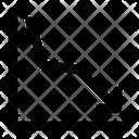 Line Chart Graph Icon