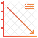 Line Graph Down Icon