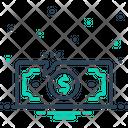 Loss Impairment Money Icon