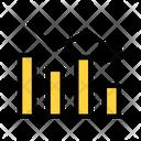 Loss Decrease Arrow Financial Loss Icon
