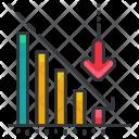 Loss Chart Bankrupt Icon