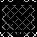 Arrow Loss Presentation Icon