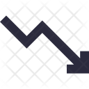 Loss Chart Graph Icon